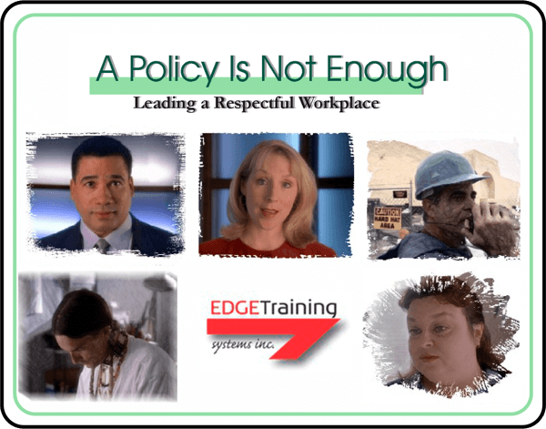 A Policy Is Not Enough