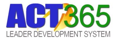 ACT365 Leader Development System