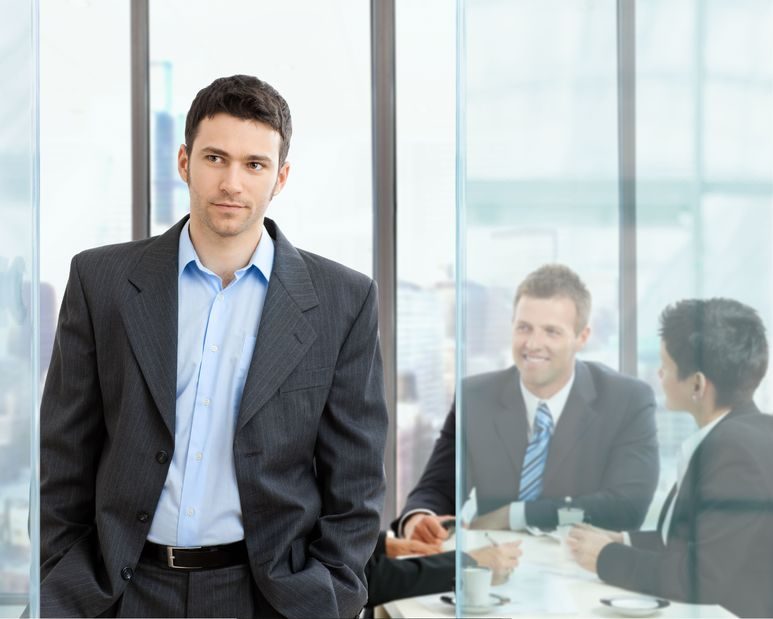 young businessman image
